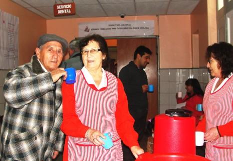 Damas de Rojo coronelinas inciden en satisfacción de usuarios del Hospital San José