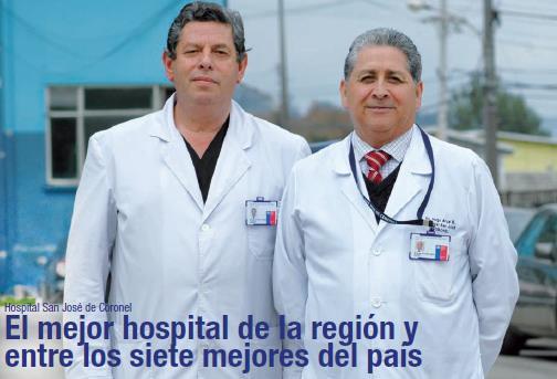 Hospital de Coronel recibe certificado de Acreditación en Calidad