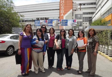 Funcionarias del Servicio de Salud Concepción realizan pasantía OIRS en Hospital San Borja Arriarán