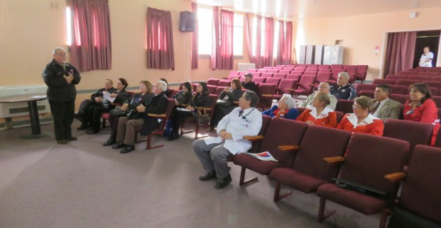 Consejo Consultivo de Servicio de Salud Concepción visita Hospital San José de Coronel