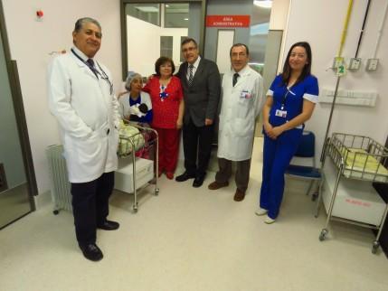 Autoridades del SS Concepción visitaron obras de mejoramiento de Neonatología y Lavandería en Hospital de Coronel