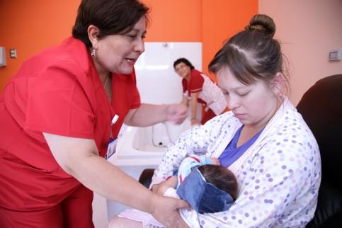 Ya nacieron los primeros tres coronelinos en la nueva Unidad de Partos del Hospital San José de Coronel