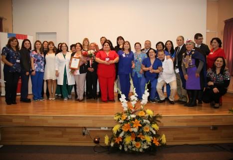 Hospital San José de Coronel coronó Día del Hospital reconociendo a destacados funcionarios por años de servicio
