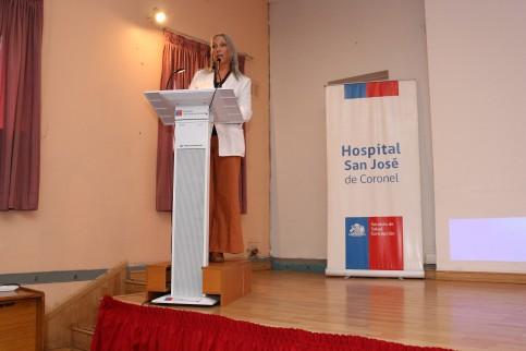 Dra. Vilma Razmilic rindió su primera Cuenta Pública como directora del San José de Coronel