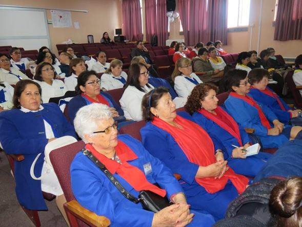 Primera Jornada de Capacitación para el Voluntariado del Hospital de Coronel