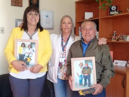 Directivos del Hospital San José de Coronel reconocen labor de funcionarios por sus años de servicios