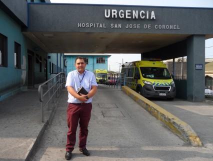 """Capellanía Evangélica en el Hospital de Coronel: """"Amor por el prójimo y vocación de servicio"""""""
