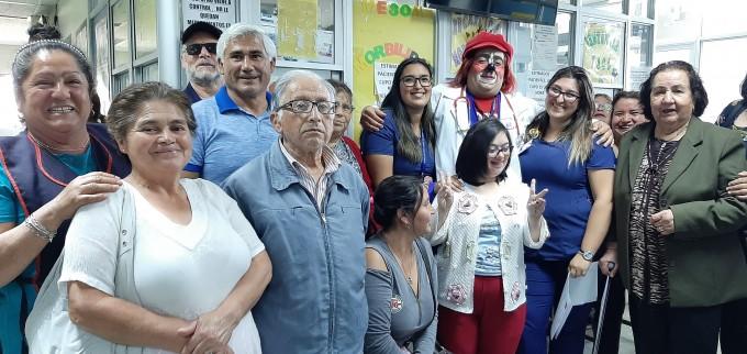 Hospital de Coronel conmemoró el Dia Mundial contra el Cáncer