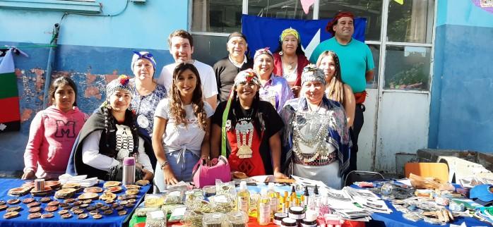 Feria Intercultural retomó sus actividades en el Hospital de Coronel