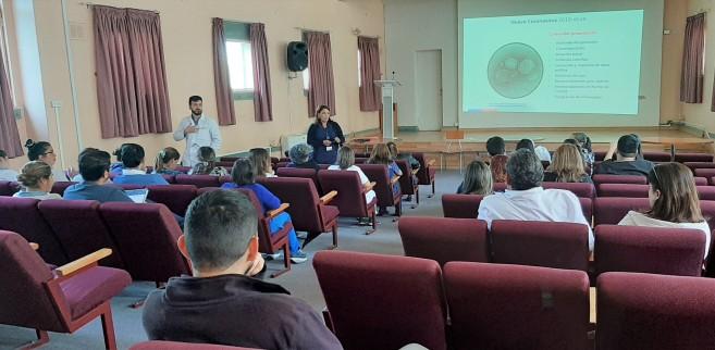 Más de 130 de funcionarios del Hospital San José de Coronel se capacitaron en manejo y prevención en Coronavirus