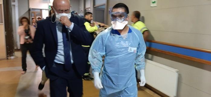 Evalúan satisfactoriamente simulacro de atención por sospecha de coronavirus realizado internamente en la red hospitalaria del Servicio de Salud Concepción
