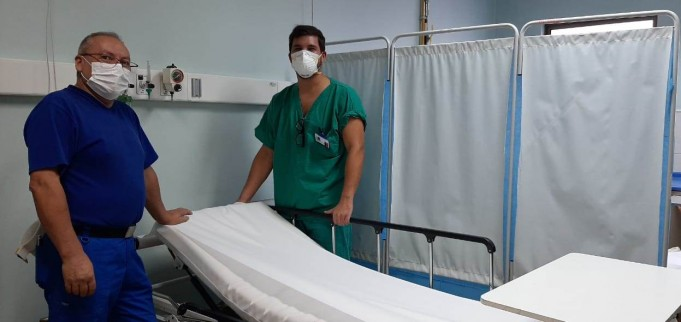 SERVICIO DE URGENCIA DEL HOSPITAL DE CORONEL IMPLEMENTA NUEVOS BOX DE ATENCIÓN PARA ENFRENTAR CONTINGENCIA POR CORONAVIRUS