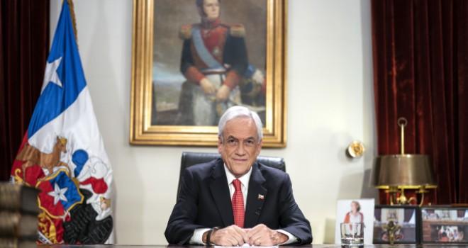 Presidente Piñera anuncia medida de protección para adultos mayores