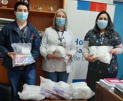 Donan artículos de aseo para pacientes de escasos recursos del Hospital San José