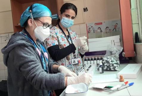 Hospital san José de Coronel incorporó terapia complementaria para funcionarios de salud