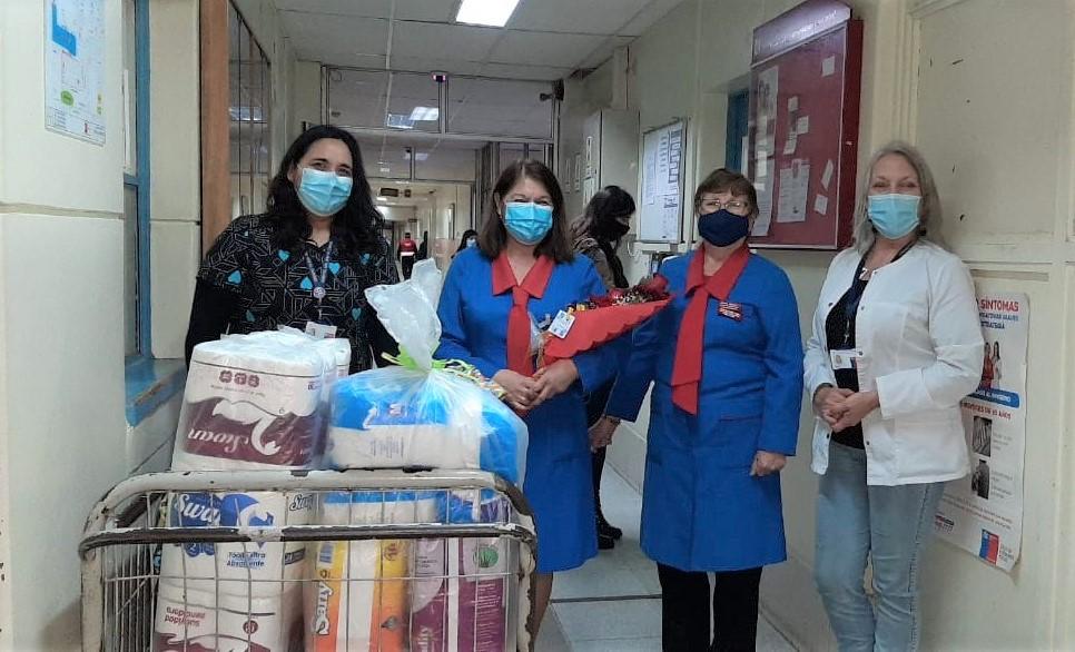 Damas de Azul cumplen 37 años de trabajo solidario con pacientes del Hospital San José de Coronel