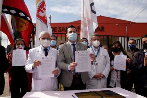 Convenio de Hospital San José con Municipalidad acercará salud al sector sur de Coronel
