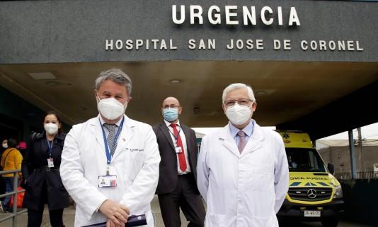 Nuevo director(s) asume en Hospital San José de Coronel