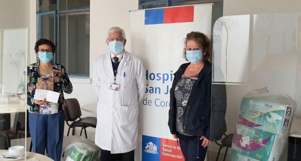 Voluntariado Damas de Rojo cumple nuevo aniversario en pandemia al servicio de los pacientes y la comunidad hospitalaria