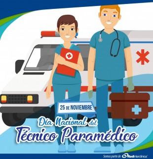 Saludo Día del Técnico Paramédico