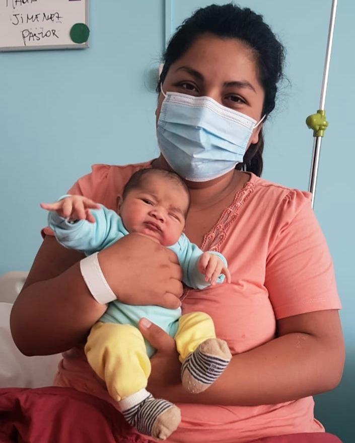 Tres niños nacieron en Hospital de Coronel el Primer Día de este 2021